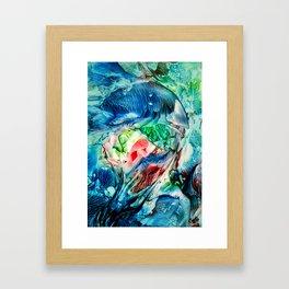 BlueJellyFish Framed Art Print