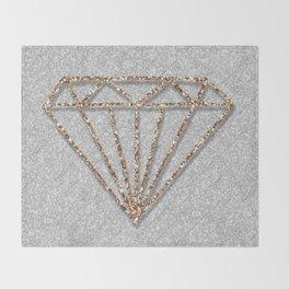 Glitter Diamond Throw Blanket