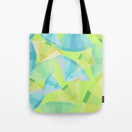 Citrus Blue Tote Bag