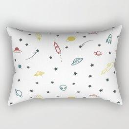 Space pattern Rectangular Pillow
