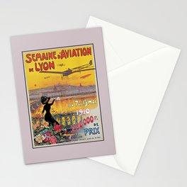 1910 Aviation week Lyon France Stationery Cards
