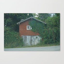 House on the Road Canvas Print