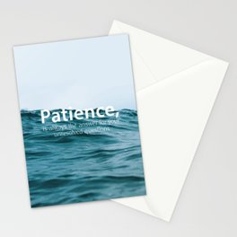 Patience, Stationery Cards