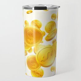 Golden Rain Travel Mug