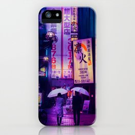 Tokyo Nights / Valentines Day / Liam Wong iPhone Case
