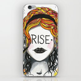 "Words Within: ""Rise"" iPhone Skin"