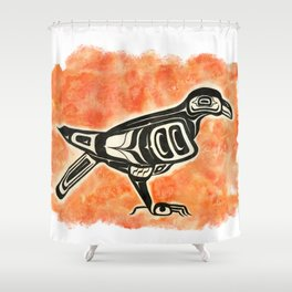 Formline Corvid I Shower Curtain