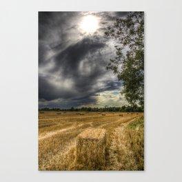 Storm over the Farm Canvas Print