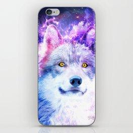 Cosmic Wolf iPhone Skin