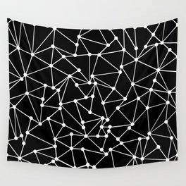 Ab Out Black Spots Wall Tapestry