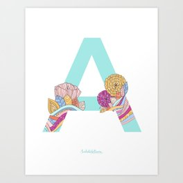 A-TROPICAL Art Print