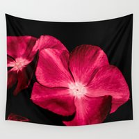 ruby Wall Tapestries featuring Ruby by Loredana