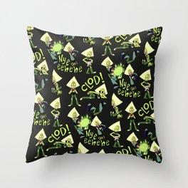 P-dot Pattern Throw Pillow