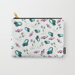Head phones pattern Carry-All Pouch