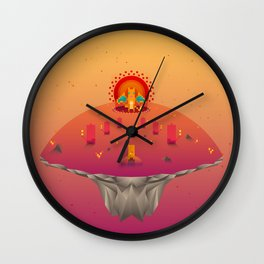Red Family from Gameboy Wall Clock