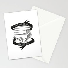 If They Don't Have Books... Stationery Cards
