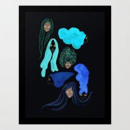 Hair 3 of 3 Art Print