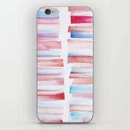 13 | 181101 Watercolour Palette Abstract Art | Lines | Stripes | iPhone Skin