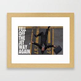 Dumb & Dumbe - Jetway Framed Art Print