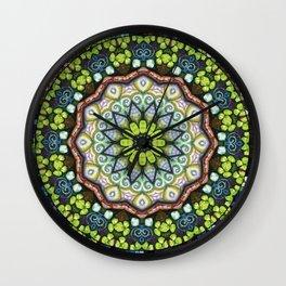 Lucky Me! Through My Kaleidoscope View #5 Wall Clock