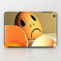 eggs iPad Cases featuring eggs by  Agostino Lo Coco