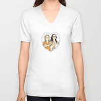 oitnb V-neck T-shirts featuring Alex & Piper Forever OITNB by StephDere