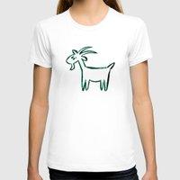 goat T-shirts featuring Goat by ANNA MAKAĆ -  folk designs