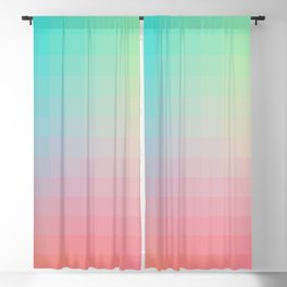 Lumen, Pink and Teal Blackout Curtain