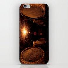 Wine Barrels iPhone & iPod Skin