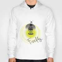 firefly Hoodies featuring Firefly by Tink.hr
