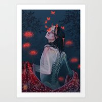 Fading Away Art Print