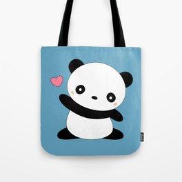 Kawaii Cute Panda Bear Tote Bag