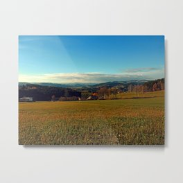 Panorama at indian summer | landscape photography Metal Print