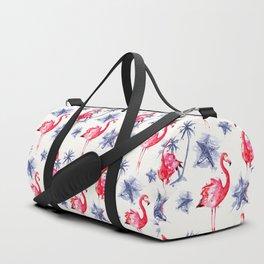 Beach Flamingos Duffle Bag