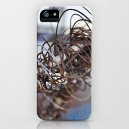 Abstract Wire iPhone Case