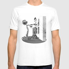 The Great Raptor & the Saga of Fasthold Ophidia T-shirt