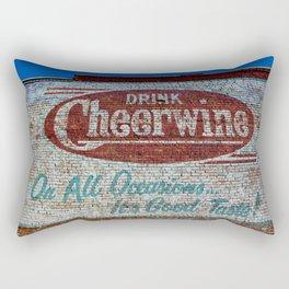 Cheerwine Sign 1 Rectangular Pillow
