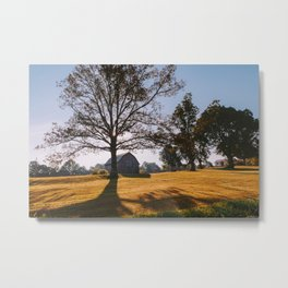 Kentucky Barn Metal Print