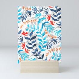 Tropic Gouache Sea Plants  Mini Art Print