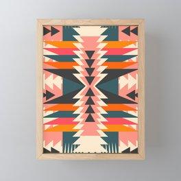Colorful ethnic decoration Framed Mini Art Print