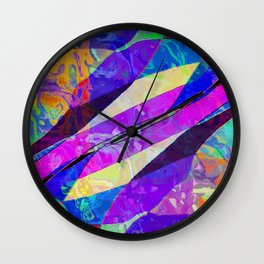 Breaking the mold Wall Clock