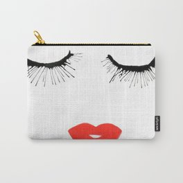 Lashes & Lips Carry-All Pouch