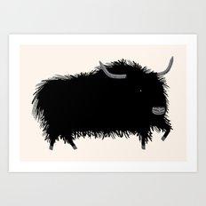 The Yak Art Print