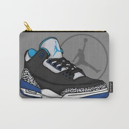 Jordan 3 (Sport Blue) Carry-All Pouch
