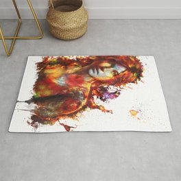 Lara Croft Rug