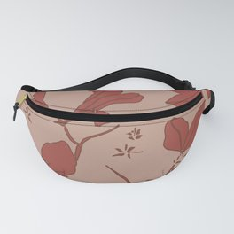 Delicate Floral, Stone Crop Garden, Earth and Rose Fanny Pack