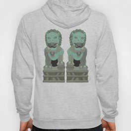 Lion Statues Hoody