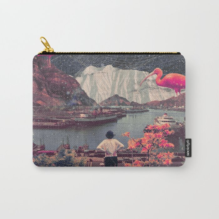 My Choices left me Alone Carry-All Pouch