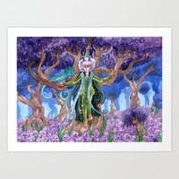 The Druid's Forest Art Print