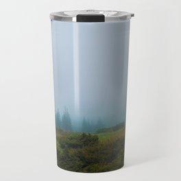 Gloomy mountains landscape Travel Mug